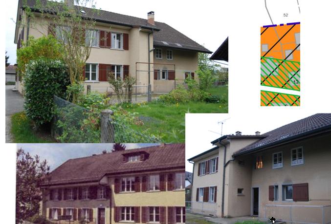 Sanierungsprojekt Othmarsingen, altes Bauernhaus, mehrere Jahre unbewohnt, letzte Renovierung 1950