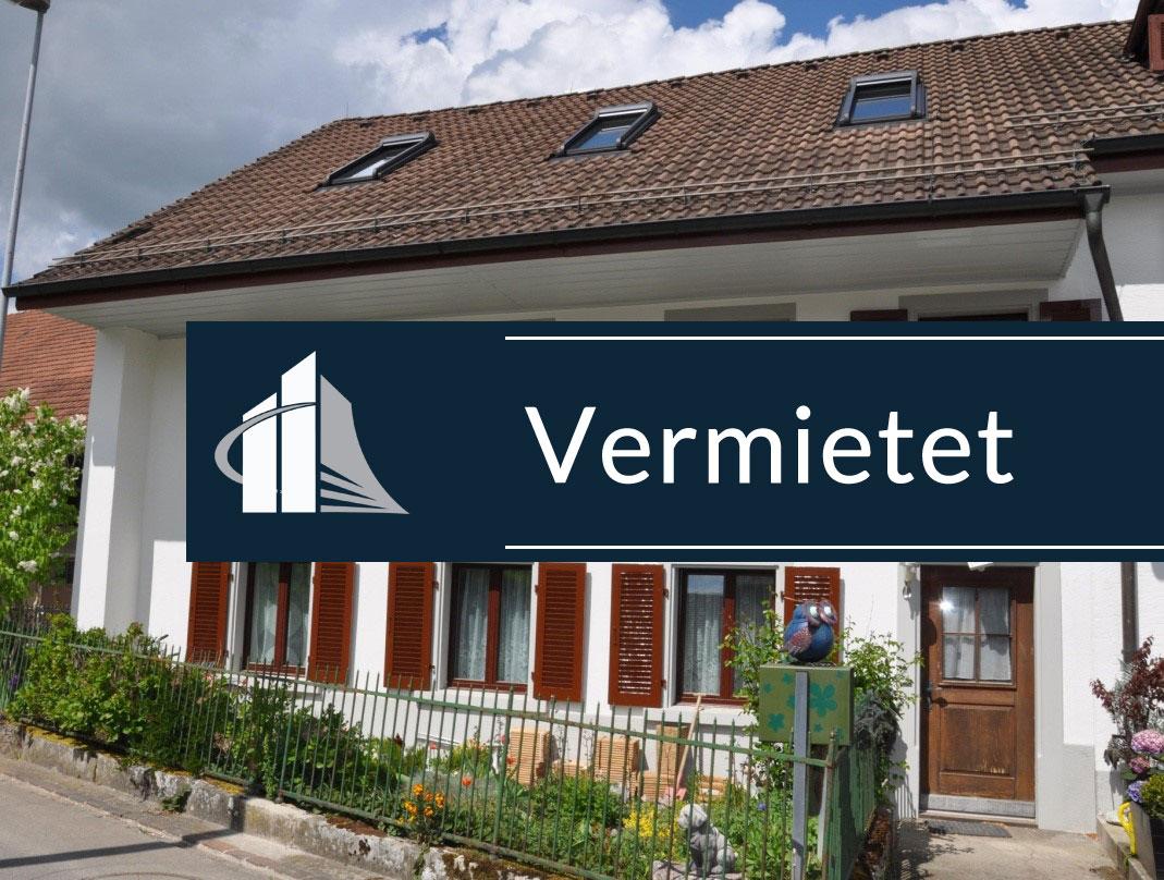 30 min von Zürich: 210 m² Doppeleinfamilienhaus