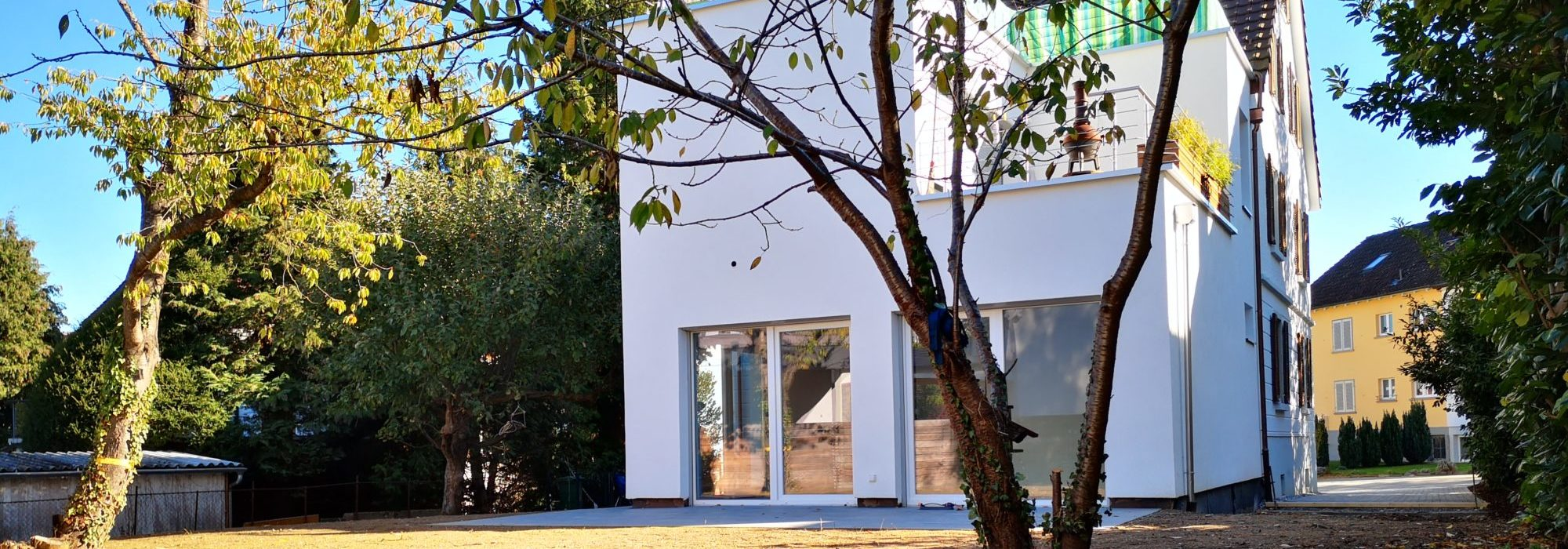 Grüne Oase im Zentrum: Vollsanierte Altbauwohnung mit 260m²grossem Garten