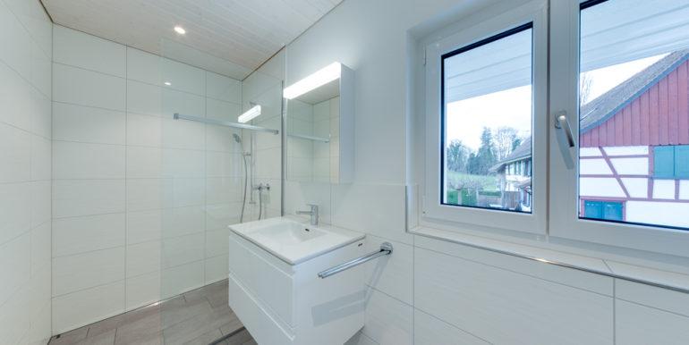 Haus am See in Landschlacht - Badezimmer, Dusche, WC