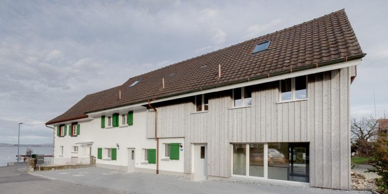 Haus-Eingangsseite - Haus am See in Landschlacht
