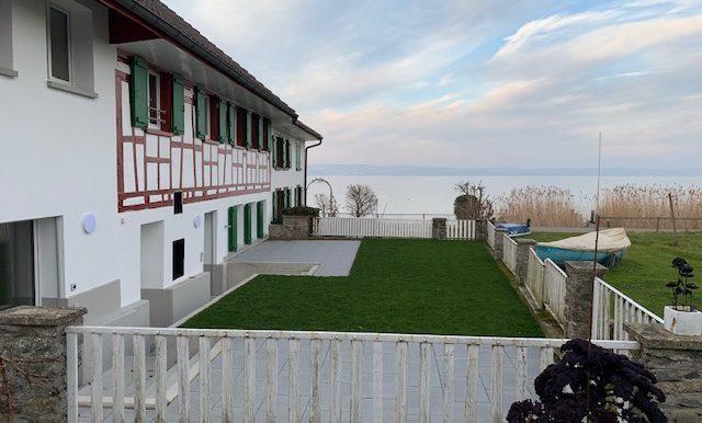 Terrasse direkt am See
