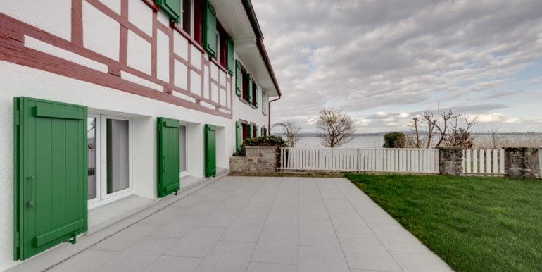 Terasse- Dachboden Haus am See in Landschlacht