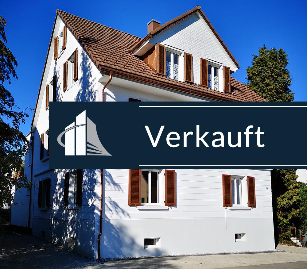 VERKAUFT – Grüne Oase im Zentrum – Vollsanierte Altbauwohnung mit 260m²grossem Garten