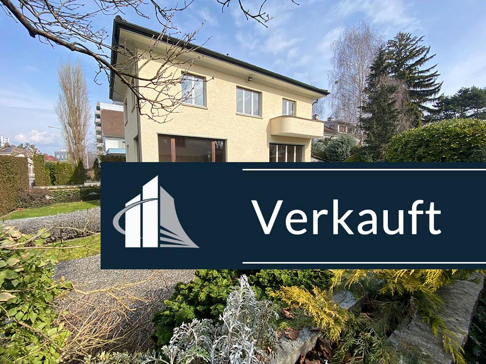 VERKAUFT – Einfamilienhaus in Kreuzlingen mit Potential